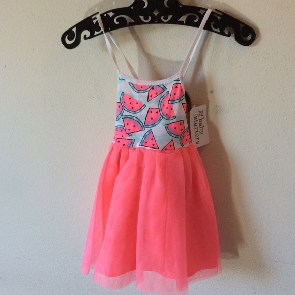 Baby Starters Other - Watermelon 🍉 TuTu 24M Girl's Summer Baby Dress
